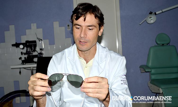 6c5a6ced7 Não é indicado utilizar óculos de sol que não tenham origem conhecida,  alerta oftalmologista