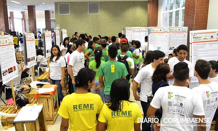 5e1342f97 Estudantes expõem projetos na Feira de Ciência e Tecnologia do Pantanal