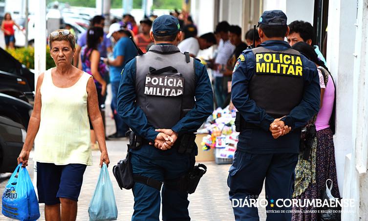 94cb1cca142ea Polícia Militar reforça segurança no centro comercial neste mês ...