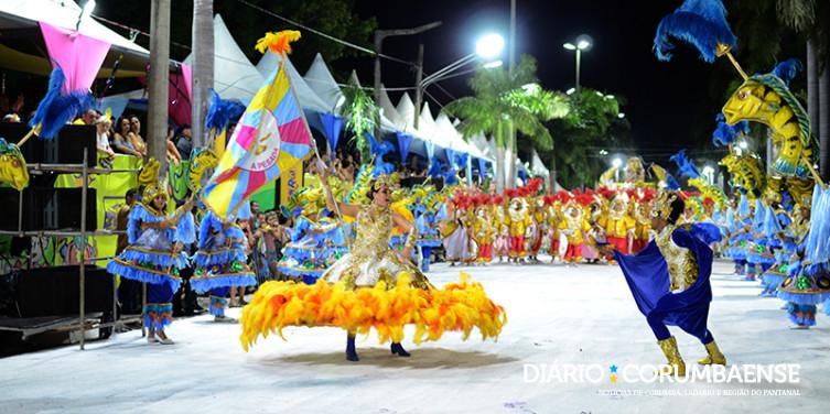 Carnaval 2020 já tem definida ordem dos desfiles das escolas de samba de  Corumbá - Diário Corumbaense